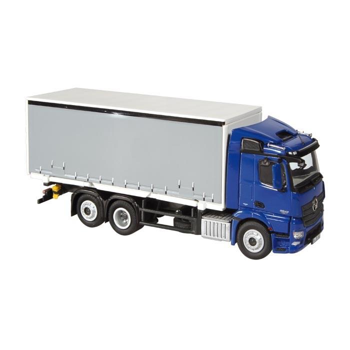 MERCEDES BENZ ANTOSメルセデスベンツ 6X2, FH 600M コンテナトラック /NZG 1/50 建設機械模型