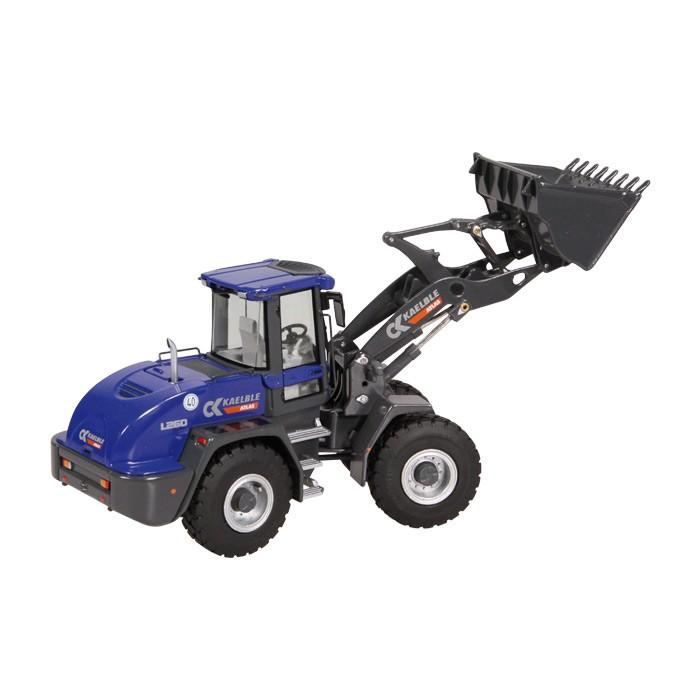 【予約】2015年発売予定KAELBLE ATLAS L260 Heavy ホイールローダー /NZG 建設機械模型 工事車両 1/50 ミニチュア