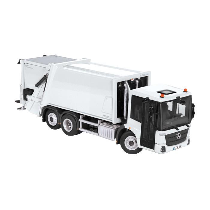 【予約】2015年発売予定メルセデスベンツ ECONIC / FAUN VARIOPRESS ごみ収集車トラック /NZG 建設機械模型 工事車両 1/50 ミニチュア