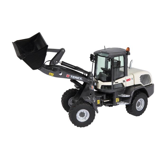 【予約】2015年発売予定TEREX TL120 ホイールローダー /NZG 建設機械模型 工事車両 1/50 ミニチュア