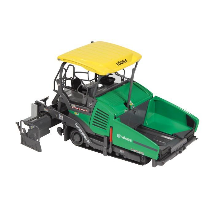 【予約】2016年発売予定VOGELE SUPER 2000-3I Tracked paver 舗装車 /NZG 建設機械模型 工事車両 1/50 ミニチュア