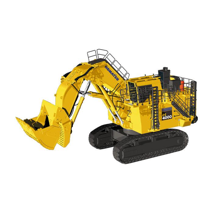 KOMATSUコマツ PC4000 front shovelショベル 建設機械模型 工事車両NZG 1/50 ミニチュア