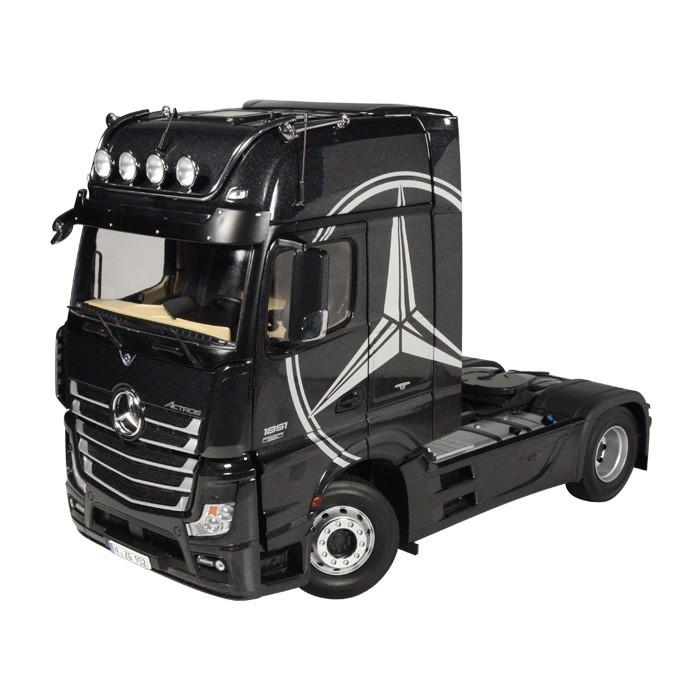 メルセデスベンツ アクトロス GIGASPACE 4X2トラクタヘッド トラック 建設機械模型 工事車両NZG 1/18 ミニチュア