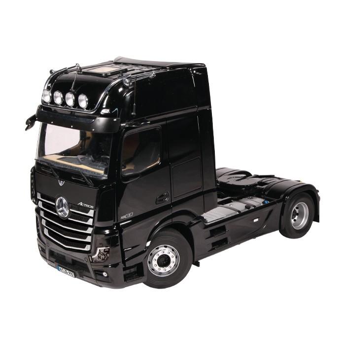 【予約】10-12月以降発売予定メルセデス・ベンツアクトロス 4x2 GigaSpace トラック トラクタ ブラック 建設機械模型 工事車両NZG 1/18 ミニチュア