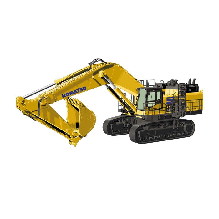【予約】10-12月以降発売予定KOMATSUコマツ PC1250 backhoe  ショベル 建設機械模型 工事車両NZG 1/50 ミニチュア
