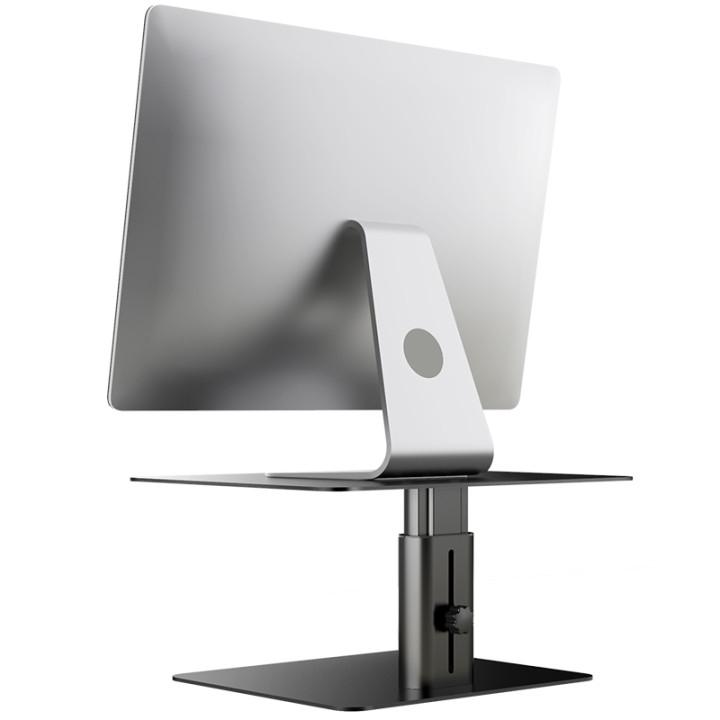ノートパソコンスタンド モニタースタンド ノートパソコン ディスプレイ台 高さ調整 アルミ合金製 Macbook