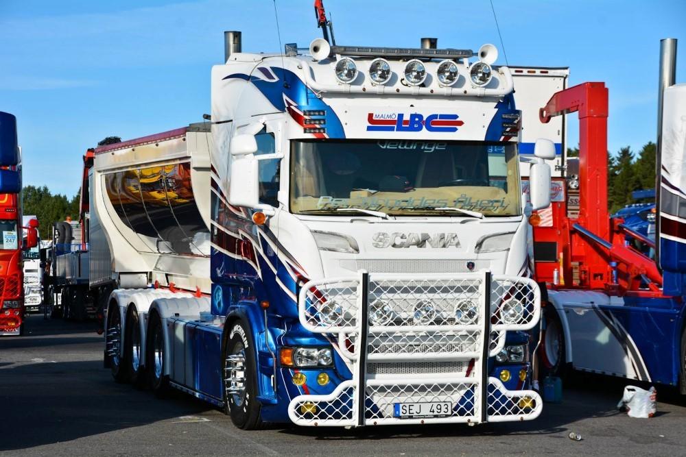 【予約】2017年10-12月以降発売予定Per Brodde Scaniaスカニア R-serie Highline rigid truck with hookarm container トラック Teknoテクノ 建設機械模型 工事車両 1/50 ミニチュア