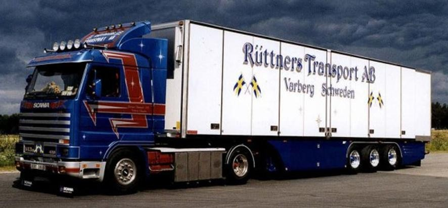 【予約】2017年5-7月以降発売予定Ruttner Transport Scaniaスカニア 3-Serie Streamline リーファートレーラー  Teknoテクノ 建設機械模型 工事車両 1/50 ミニチュア