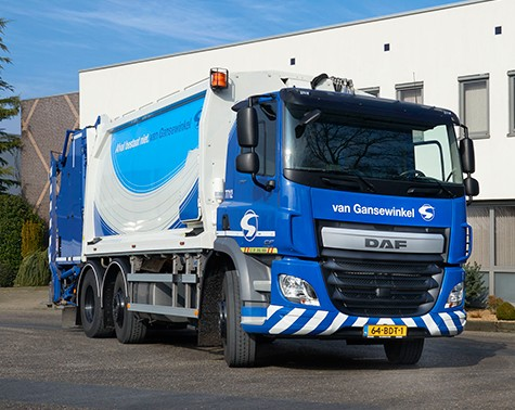 【予約】2017年10-12月以降発売予定Gansenwinkel DAF CF trash truck トラック Teknoテクノ 建設機械模型 工事車両 1/50 ミニチュア