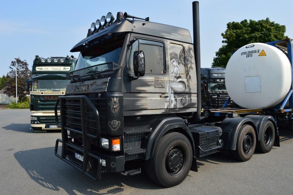 【予約】2017年6-8月以降発売予定OK Trans Scaniaスカニア 3-serie Streamline トラック トラクタヘッド Teknoテクノ 建設機械模型 工事車両 1/50 ミニチュア