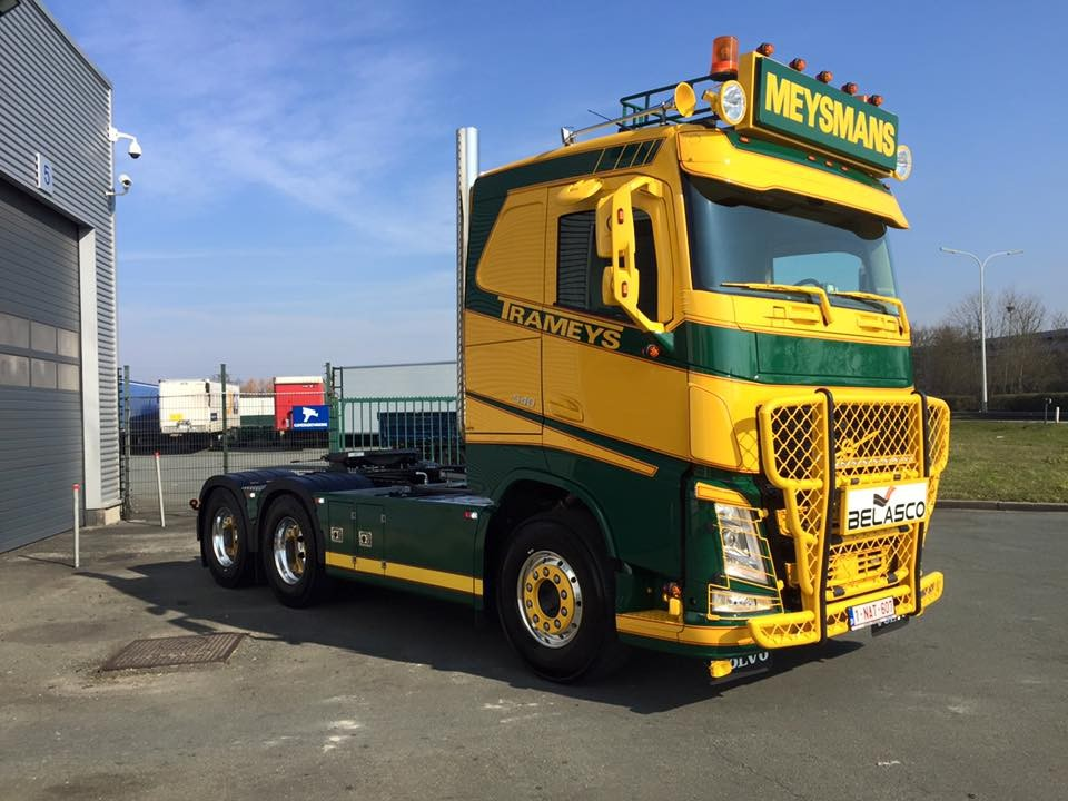 【予約】2017年8-10月以降発売予定Trameys olvo FH04 トラック トラクタヘッド Teknoテクノ 建設機械模型 工事車両 1/50 ミニチュア