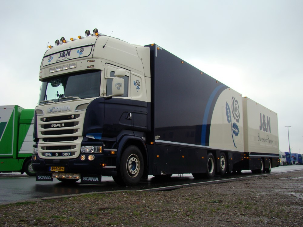 【予約】2017年5-7月以降発売予定J&N Blumen Scaniaスカニア R-Streamline Topline rigid truck トレーラー  Teknoテクノ 建設機械模型 工事車両 1/50 ミニチュア