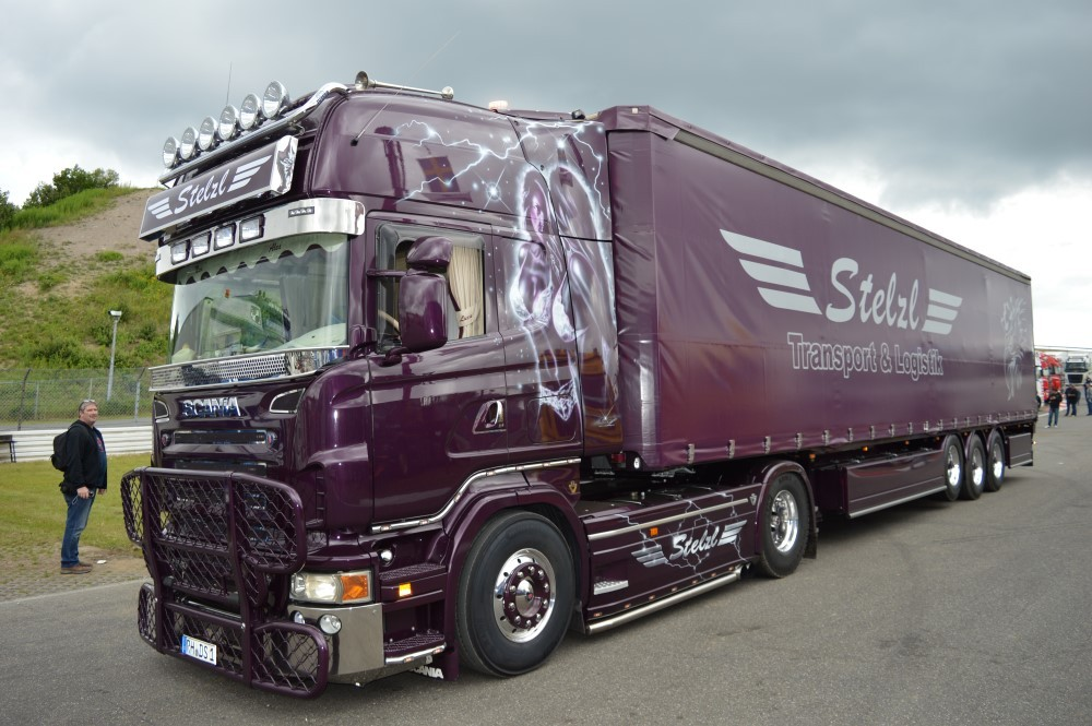 ga-ksz stelzl Tekno camiones scania R topl.//aerop