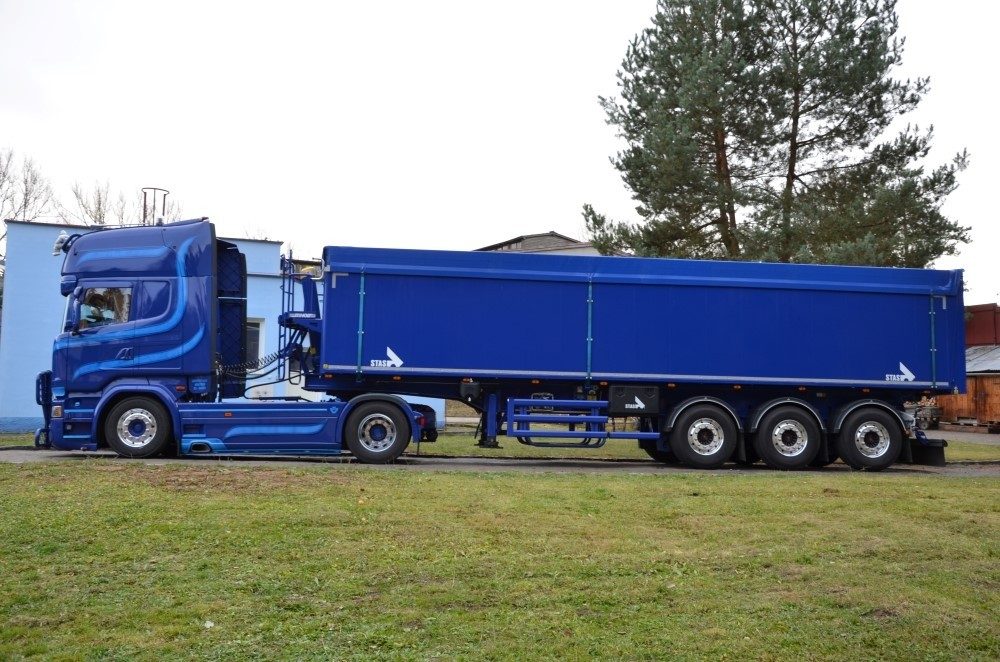 【予約】4-6月以降発売予定Argman Scaniaスカニア R-streamline Topline 4x2 with Stas tipperトラック 建設機械模型 工事車両 TEKNO 1/50 ミニチュア