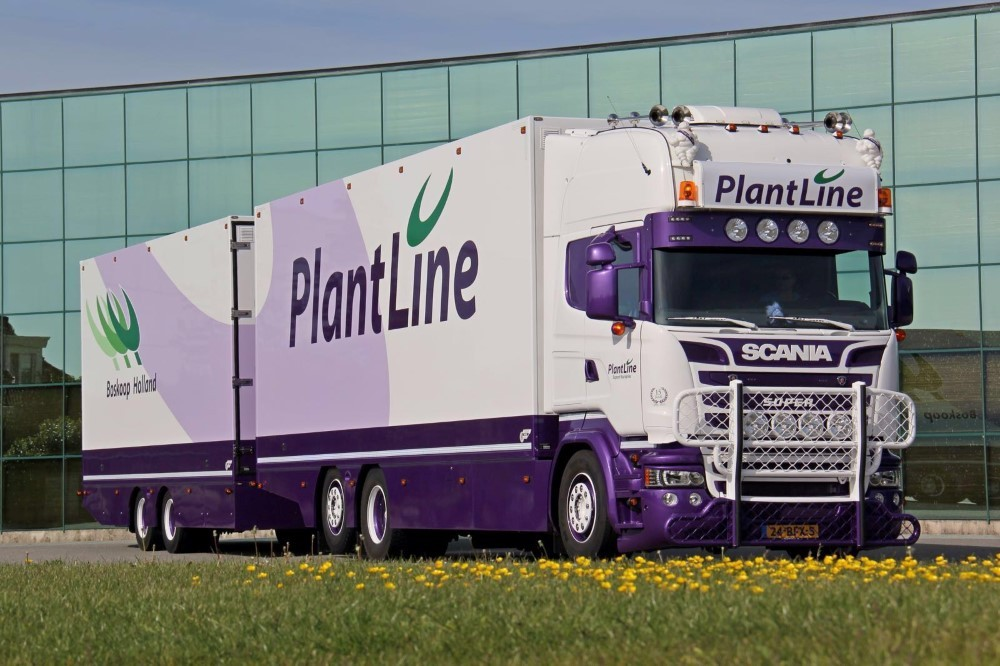 【予約】2017年8-10月以降発売予定Plantline Scaniaスカニア R-Streamline Topline combiトラック Teknoテクノ 建設機械模型 工事車両 1/50 ミニチュア