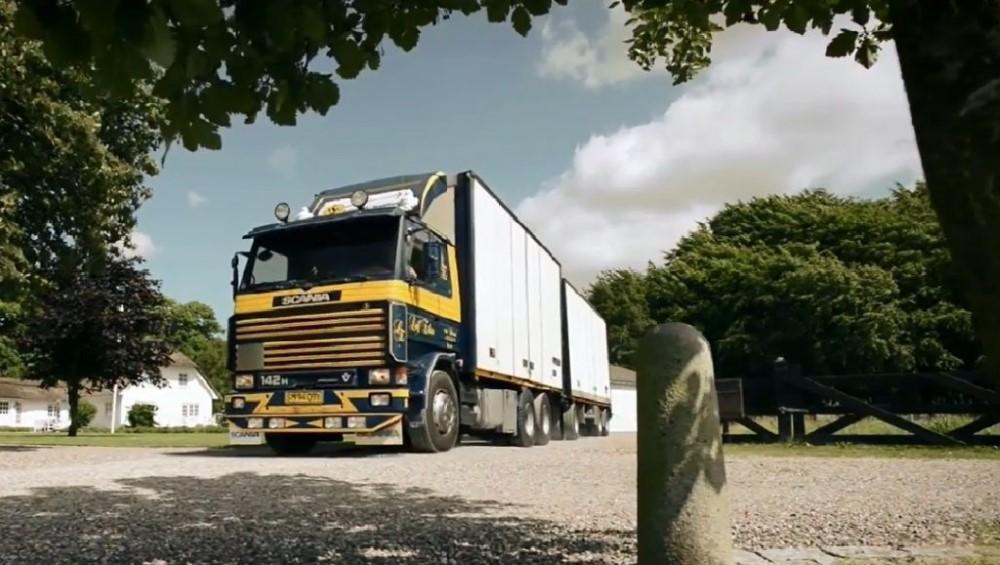 【予約】2017年10-12月以降発売予定Eriksen, Leif Scaniaスカニア 2-serie rigid truck リーファートレーラー  Teknoテクノ 建設機械模型 工事車両 1/50 ミニチュア