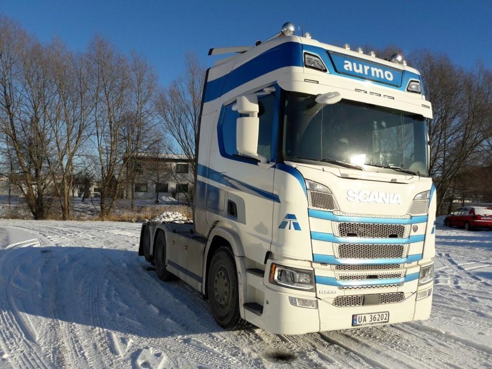 【予約】2017年10-12月以降発売予定Aurmo Next generation Scaniaスカニア R-serie Highline トラック トラクタヘッド Teknoテクノ 建設機械模型 工事車両 1/50 ミニチュア