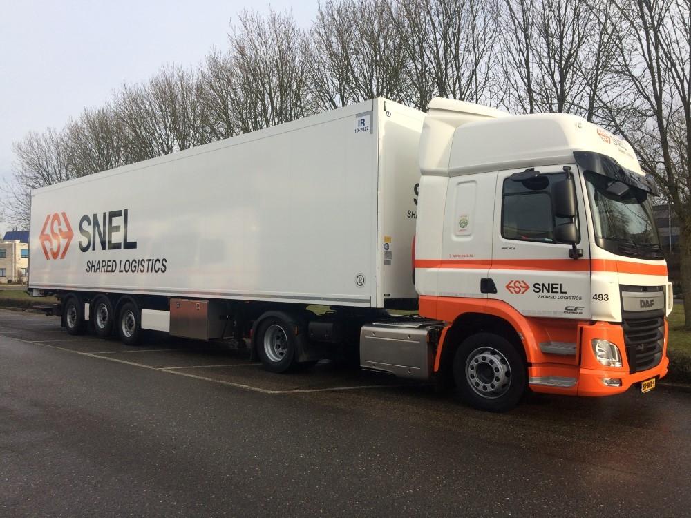 【予約】2017年10-12月以降発売予定Snel G. DAF CF Space Cab Euro 6 with zinc box セミトレーラートラック Teknoテクノ 建設機械模型 工事車両 1/50 ミニチュア