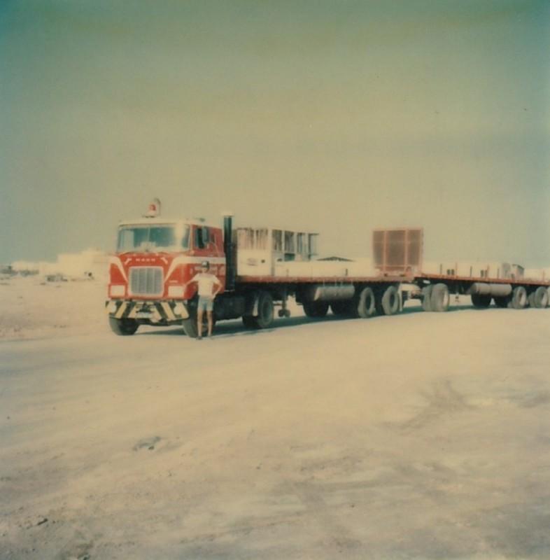 【予約】7-10月以降発売予定Sedo Mack F700 with 2 flat trailerトレーラー 建設機械模型 工事車両 TEKNO 1/50 ミニチュア