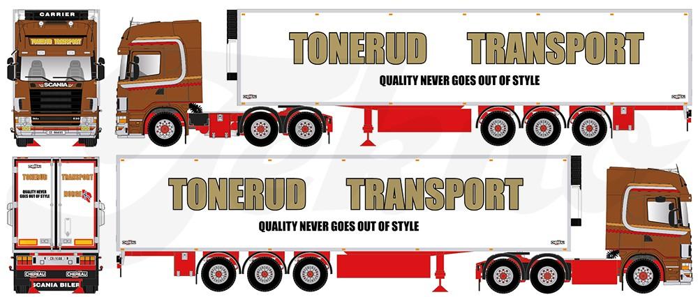 【予約】2018年1-3月以降発売予定Tonerud Scaniaスカニア 4-serie Topline with reefer semiトレーラートラック 建設機械模型 工事車両 TEKNO 1/50 ミニチュア
