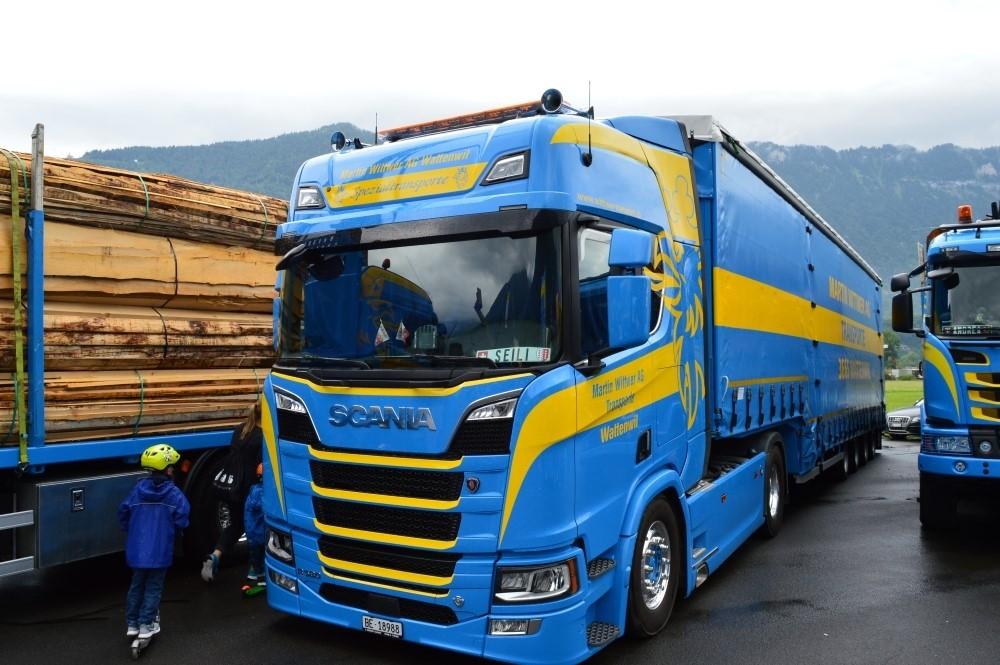 【予約】4-6月以降発売予定Wittwer Scaniaスカニア R-serie 4x2 with 4 axle Meusburgerトラック 建設機械模型 工事車両 TEKNO 1/50 ミニチュア