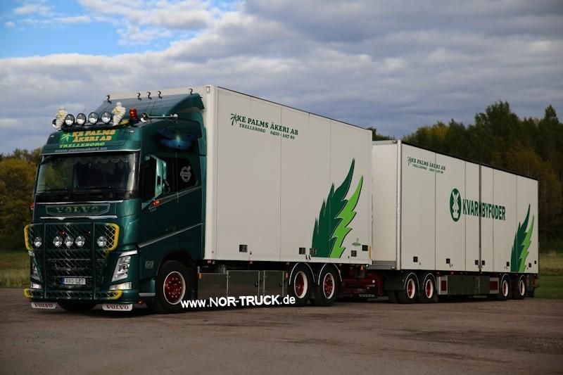 【予約】4-6月以降発売予定Palms Volvo FH04 Swedish combinationトラック 建設機械模型 工事車両 TEKNO 1/50 ミニチュア