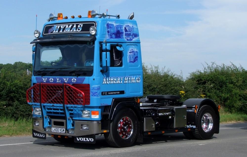 【予約】4-6月以降発売予定Hymas, Robert - The Duchess Volvo F12 Globetrotter 4x2トラクタ 建設機械模型 工事車両 TEKNO 1/50 ミニチュア