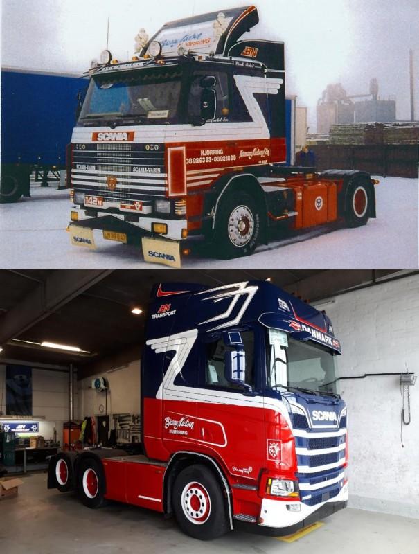 【予約】10-12月以降発売予定Nielsen, Bjarne Scaniaスカニア 142 4x2 en Scaniaスカニア NGS R-serie Highline 6x2トラクタ 建設機械模型 工事車両TEKNO 1/50 ミニチュア