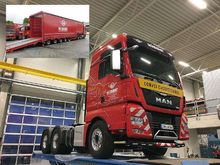 【予約】10-12月以降発売予定Wimmer Felbermayr MAN TGX XXL met Meusburger trailerトラック トラクタヘッド/建設機械模型 工事車両 Tekno 1/50 ミニチュア