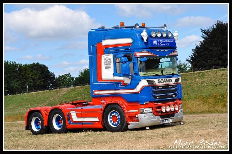 【予約】10-12月以降発売予定Mollestad Scania R-serie Topline 6x2トラック トラクタヘッド/建設機械模型 工事車両 Tekno 1/50 ミニチュア