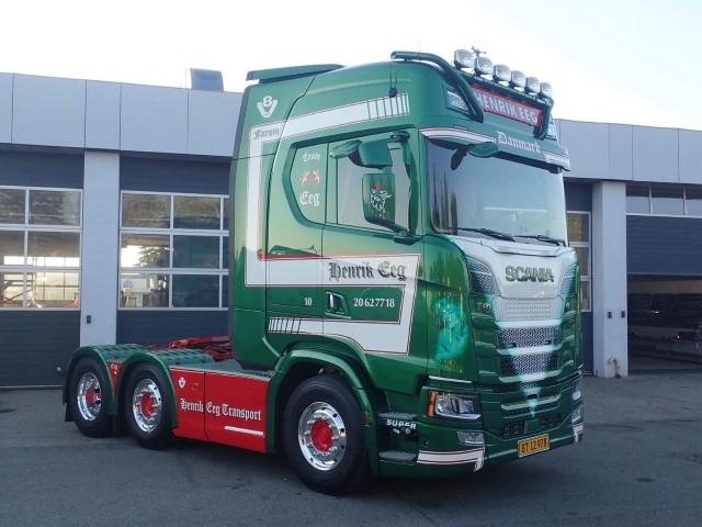 Scania ミニチュア TEKNO Henrik 【予約】2020年1-3月以降発売予定Eeg, Highline 工事車両 1/50 6x2 /建設機械模型 S-serie