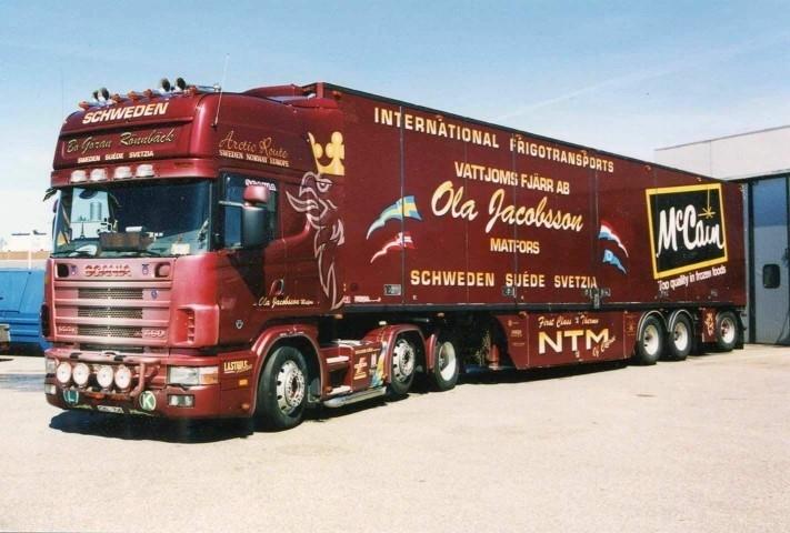 met koeloplegger Topline NTM 【予約】2021年1月-3月以降発売予定Ola Jacobssen Scania 4-serie 3-assige