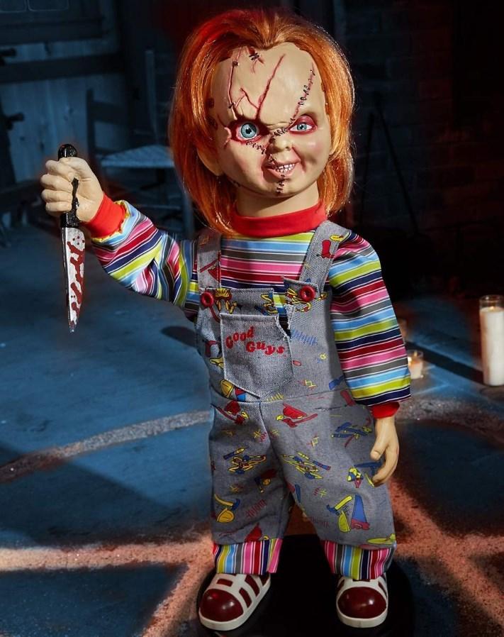 チャッキー ドール ゴー チャッキー アニマトロニクス ドール人形 60cm ロボット チャイルド・プレイ オフィシャルライセンス公式商品 海外ショップ限定
