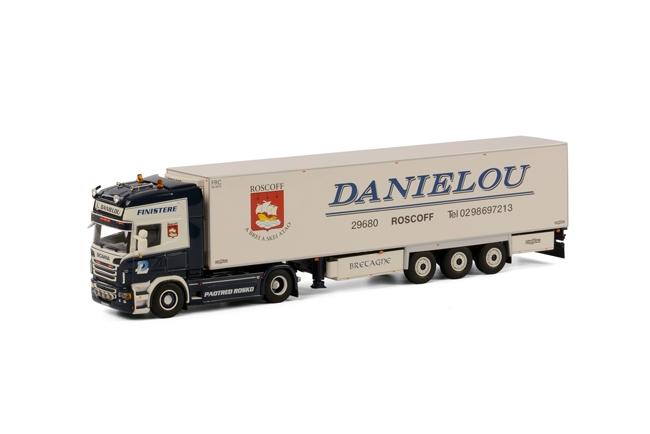 【予約】7-9月以降発売予定Danielou SCANIAスカニア R Topline リーファートレーラー Thermoking 3軸 /WSI 1/50 模型ミニカー