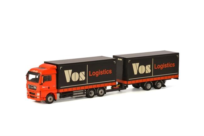 【予約】4-6月以降発売予定Vos Logistics MAN TGX XLX Combi トラック /WSI 建設機械模型 工事車両 1/50 ミニチュア