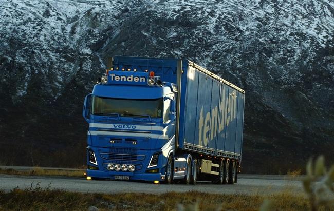 【予約】2017年4-6月以降発売予定Tenden Volvoボルボ FH4 Sleeper Cab Cargo Floor Trailerトレーラー 3軸トラック /WSI 建設機械模型 工事車両 1/50 ミニチュア