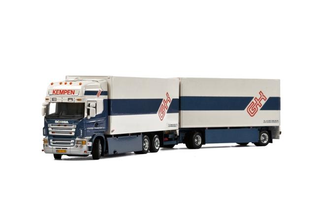 Kempen Transport SCANIAスカニア R Topline Combiトラック /WSI 建設機械模型 工事車両 1/50 ミニチュア