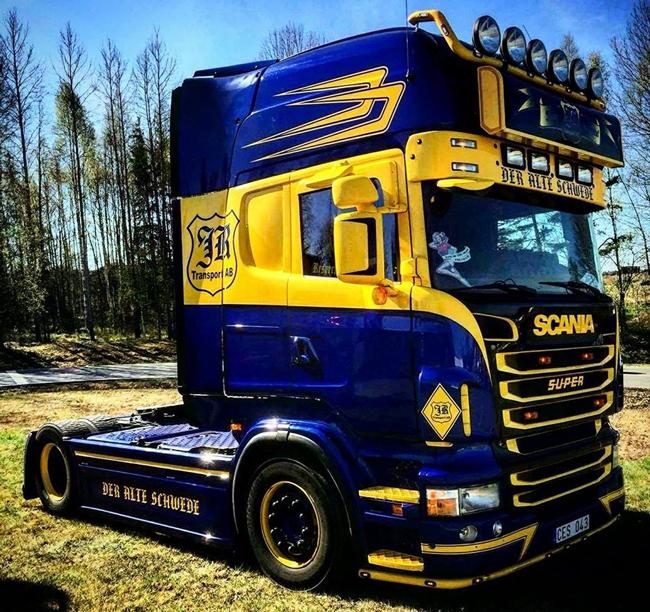 【予約】4-6月以降発売予定Jimmy Rosenqvist SCANIAスカニア R Topline トラック トラクタヘッド /WSI 建設機械模型 工事車両 1/50 ミニチュア