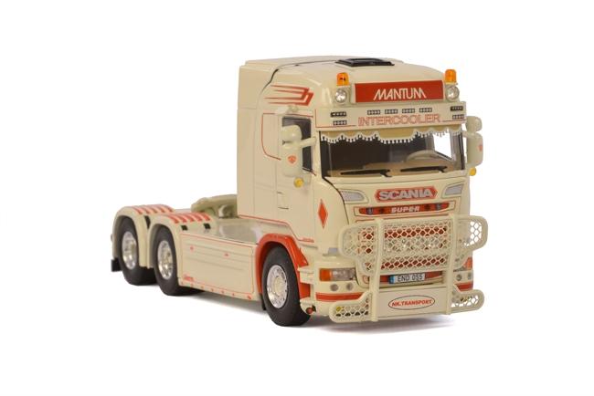 NK Transport SCANIAスカニア R Streamline Highlineトラック /WSI 建設機械模型 工事車両 1/50 ミニチュア