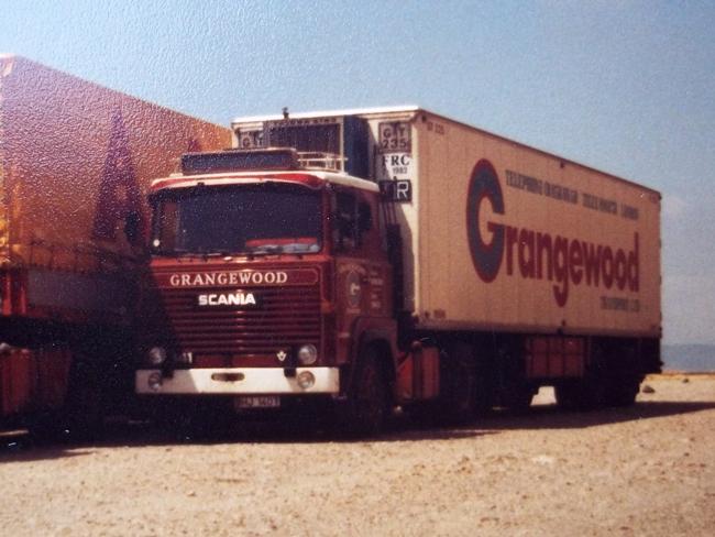 【予約】4-6月以降発売予定Grangewood SCANIAスカニア 111/141 Classic Cool Trailer トラック /WSI 建設機械模型 工事車両 1/50 ミニチュア