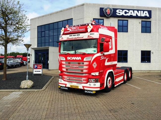 【予約】4-6月以降発売予定Sejer & Sonnichsen SCANIAスカニア R Streamline Highline トラック トラクタヘッド /WSI 建設機械模型 工事車両 1/50 ミニチュア