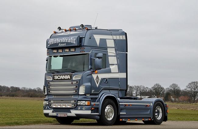 Mithriltrafic SCANIAスカニア R Topline トラック トラクタヘッド /WSI 建設機械模型 工事車両 1/50 ミニチュア