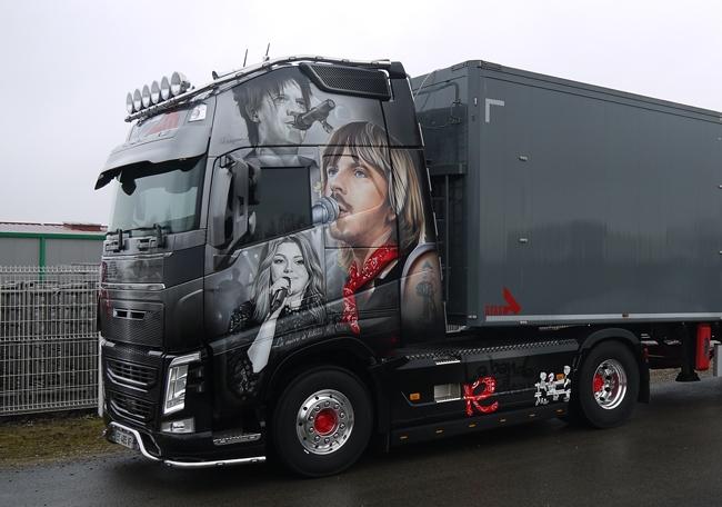 【予約】10-12月以降発売予定ACZM Logistique Volvoボルボ FH4 Globetrotter XLトラック トラクタヘッド 建設機械模型 工事車両 WSI 1/50 ミニチュア