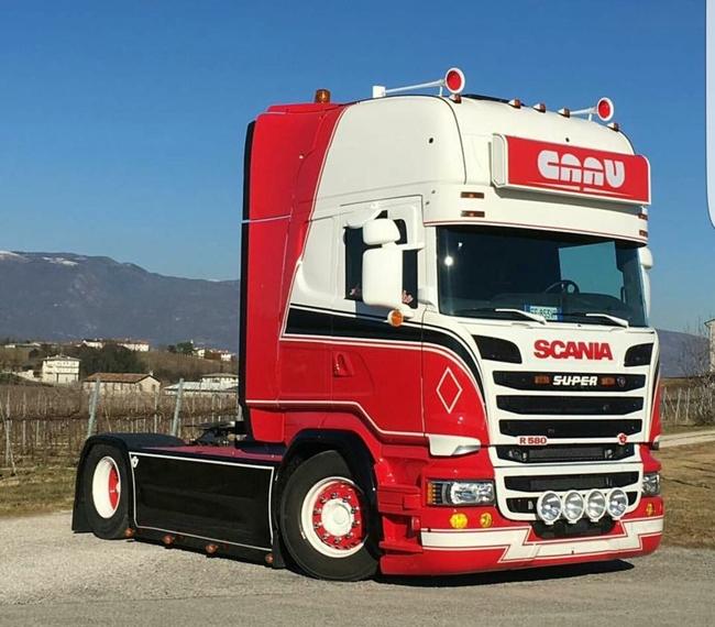 【予約】10-12月以降発売予定CAAU Scaniaスカニア R Streamline Toplineトラック トラクタヘッド 建設機械模型 工事車両 WSI 1/50 ミニチュア