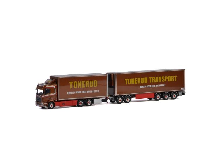 Tonerud SCANIA R NORMAL | CR20N 6X4 RIGED TRUCK LZV COMBI トラック/建設機械模型 工事車両 WSI 1/50 ミニチュア