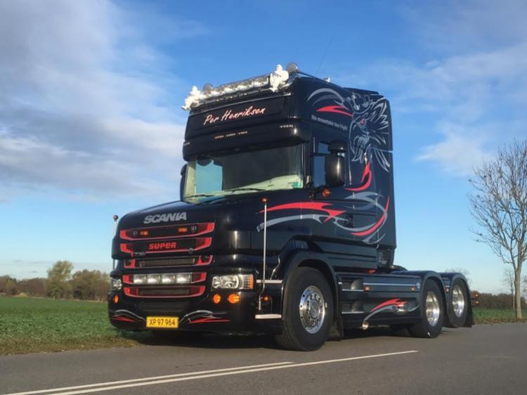 【予約】4-6月以降発売予定Per Hendriksen ApS SCANIA T6 TORPEDO TOPLINE 6x2 TAG AXLEトラック トラクタ/建設機械模型 工事車両 WSI 1/50 ミニチュア