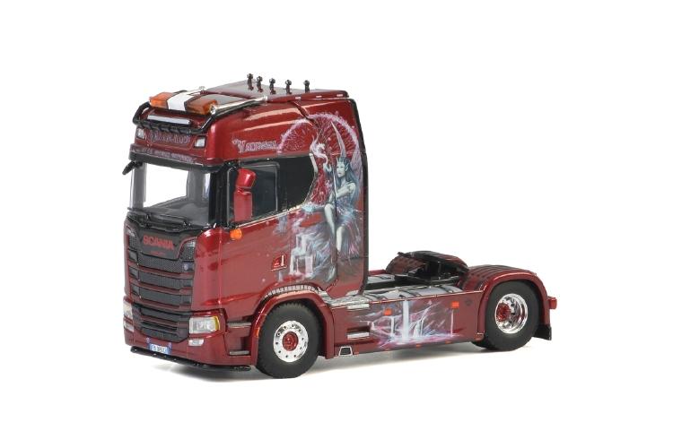 Simone SCANIA S HIGHLINE CS20H 4x2 トラック トラクタ/建設機械模型 工事車両 WSI 1/50 ミニチュア