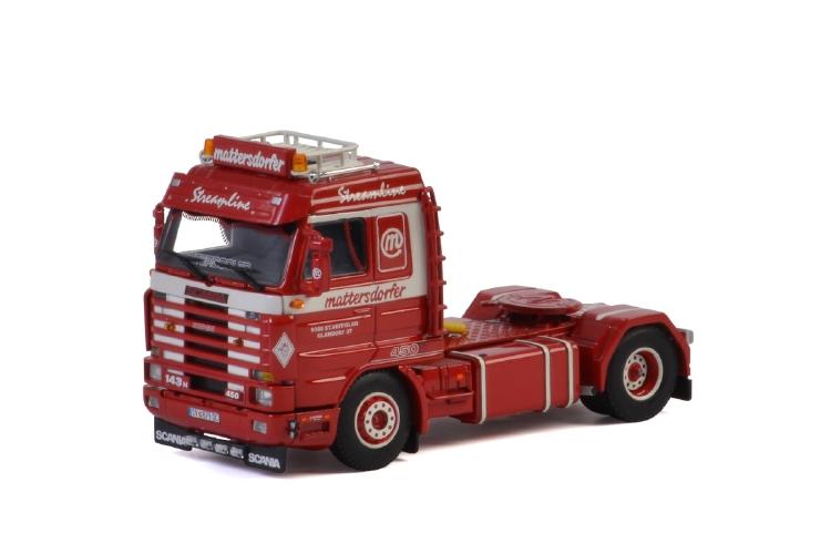 Mattersdorfer SCANIA 3 SERIES STREAMLINE 4x2 トラック トラクタ/建設機械模型 工事車両 WSI 1/50 ミニチュア
