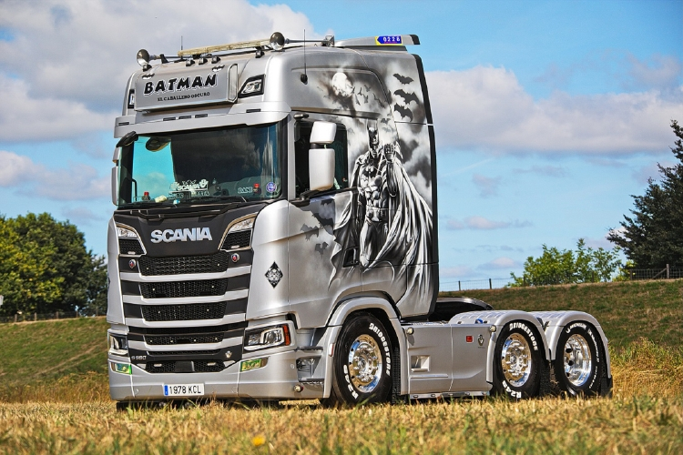 【予約】2019年4-6月以降発売予定Daniel Garcia SCANIA S HIGHLINE CS20H 6x2 TWIN STEER トラック トラクタ/建設機械模型 工事車両 WSI 1/50 ミニチュア