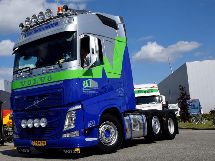 【予約】2020年1-3月以降発売予定Van der Wielen VOLVO FH4 GLOBETROTTER 6X2 TWIN STEER トラック トラクタヘッド/建設機械模型 工事車両 WSI 1/50 ミニチュア